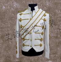 Men Suits Designs Stage Costumes For Singers Men Sequin Blazer Dance Clothes Jacket Style Dress Punk