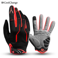 Brand Spring And Autumn Riding Bicycle Gloves Mountain Bike Gloves Full Finger Touch Screen Cycling Gloves