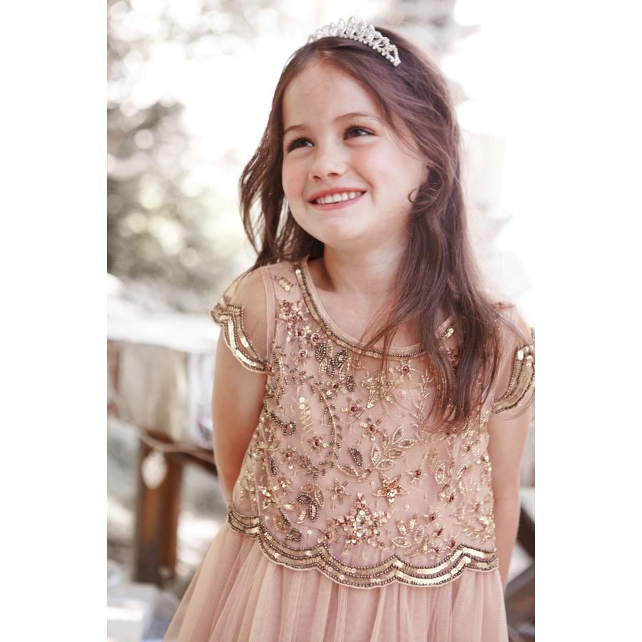 6738 Sequins Princess Costume 2pcs Top + Dress Baby Girls Dress kids dresses for girls wedding wholesale kids toddler clothes