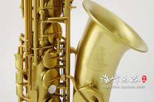 German EPPELSHEIM III Series Alto Saxophone Eb tone Sax Gilding Brass Drawing Professional Music Instruments
