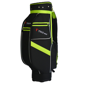 Portable Golf Stand Bag Lightweight Golf Club Set Bag Can Stand 5 Sockets Convenient Cover Bag in Large Capacity D0639