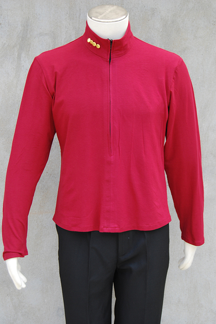 Star Trek NEM Duty Uniform Halloween Cosplay Costume Coat Jacket+shirt+badge Full Set Uniform Halloween Carnival Men 3