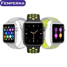 Venta! 2017 bluetooth reloj inteligente smartwatch MTK2502C IWO 2 1:1 actualización para apple iphone samsung xiaomi Huawei andriod teléfono