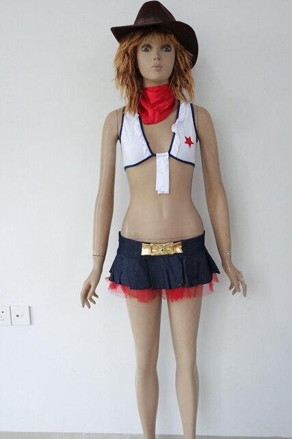 b4286942e O Envio gratuito de Halloween Traje Cowgirl 3S1334 cowgirl adulto Sexy  uniforme traje Sexy ladies Top