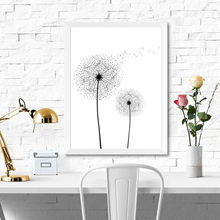 Dandelion Canvas Art Print Painting Poster, Flower Wall Pictures For Home Decoration, Wall Decor FG0115 900d nordic feather canvas art print painting poster flower wall pictures for home decoration wall decor nor37