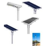 Все в одном интеллектуальных Сенсор Солнечный свет 20 Вт 30 Вт 60 Вт 80 Вт высокое Мощность Солнечный свет уличный фонарь с большой емкостью Бат