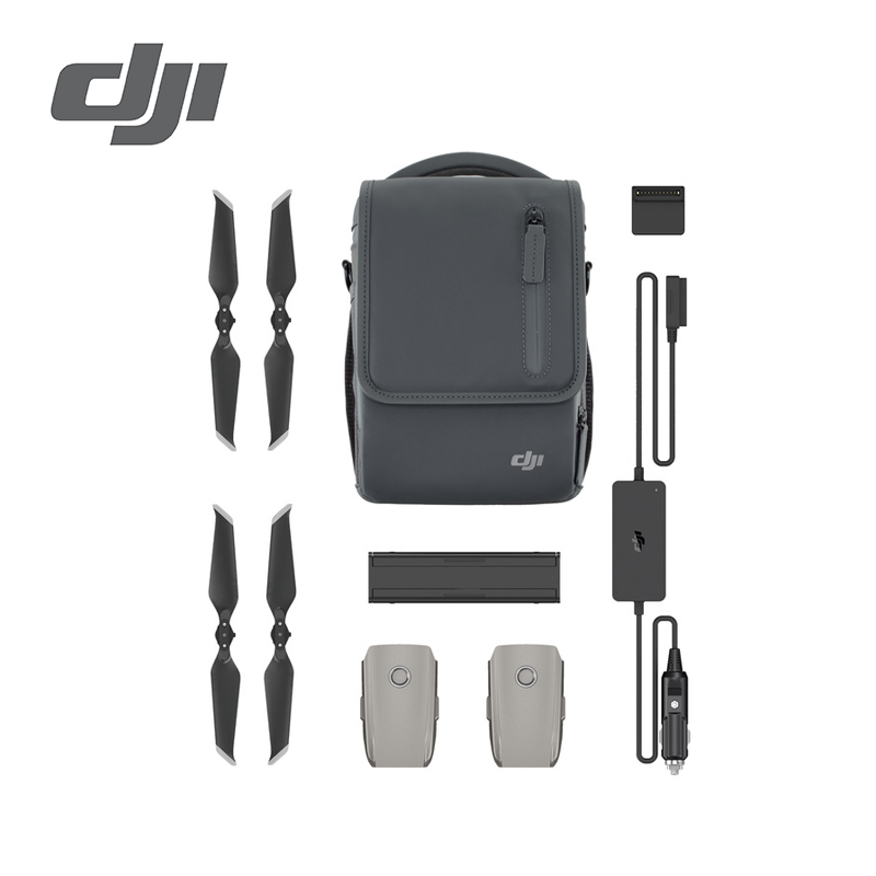 DJI Mavic 2 Fly More Kit Multiple Intelligent Batteries for a longer compatible