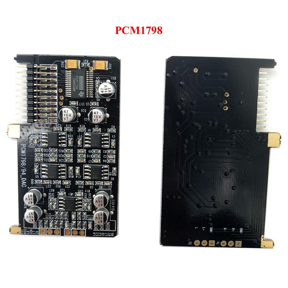 Carte de développement ADSP21489 carte de sortie DAC PCM1798 carte d'entrée ADC PCM1804 processeur 4 en 6 out T0528 - 5