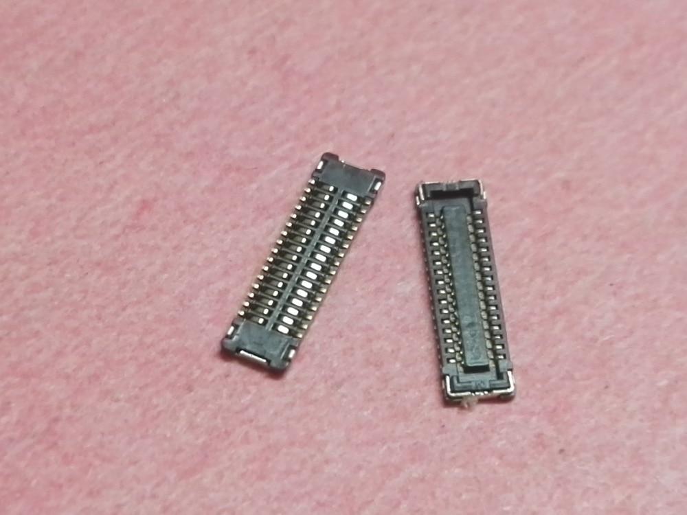 30pcs LCD Display screen FPC Connector Port Plug logic on motherboard for Apple iPad mini 1 2 3 A1432 A1455 A1454 MINI1 MNI2
