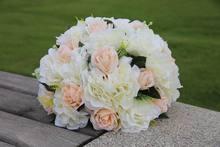 NEW!!Free shipping!10pcs/lot wedding road lead artificial flower ball wedding table flowers centerpiece flower balls decoration