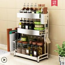 цена на 304 stainless steel Nordic kitchen shelf multi-functional condiment shelf save space kitchen shelf