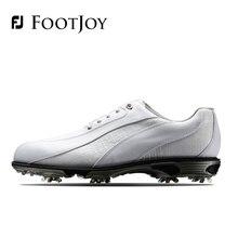 FootJoy FJ Men's Golf Shoes Genuine Leather Breathable Waterproof Stability SALE