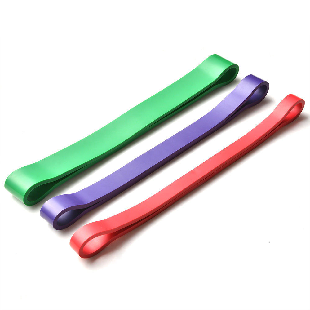 3 Colors Resistance Bands Natural Latex Expander Power Yoga Rubber Loop Fitness Elastic Bands Pilates Sport Workout Equipment