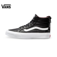 Original Vans New Arrival High Top Women's Black and White Skateboarding Shoes Sport Shoes Canvas Shoes Sneakers free shipping