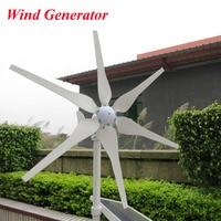 300 Watt Windgenerator, 6 Klingen Windenergieanlage Drei Phase Permanent Magnetismus Generator 12 V 24 V