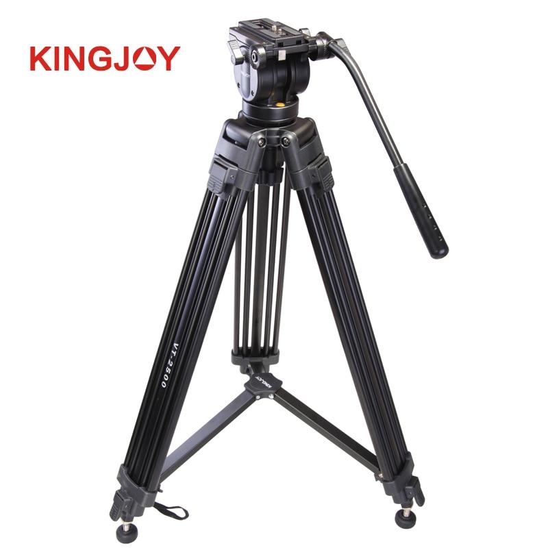 Фото Professional Mg-Al Alloy Video Tripod Kits w/360 Degree Panoramic Fluid Video Head for Wedding or TV Station Video Shooting 2500
