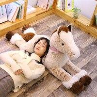 1pc 90cm/120cm Kawaii Unicorn Plush Toys Giant Stuffed Animal Horse Toys for Children Soft Doll Home Decor Lover Birthday Gift
