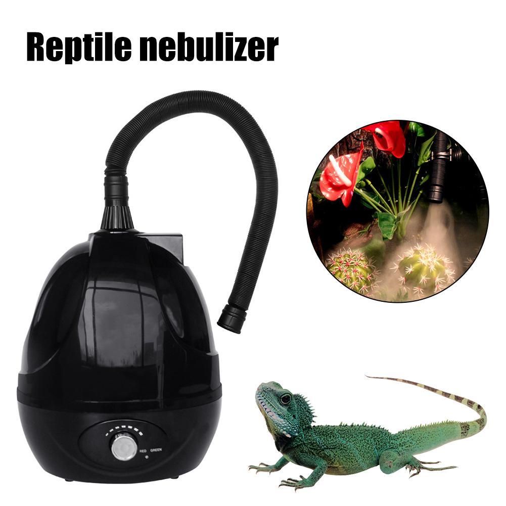 2 5L Pet Humidifier Reptile Humidifier Mute Adjustable for Rainforest Landscaping Reptile Terrarium Reptile Fogger