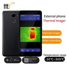 HT-102 тепловизор инфракрасный Камера термометр внешний Инфракрасный Тепловизор для Android с адаптером наземного тепла
