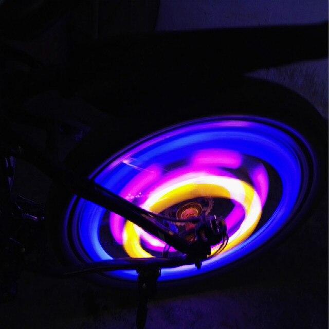 Met Batterij Spaken Licht Nieuwe Bycicle Led Light Veiligheid Fiets ...