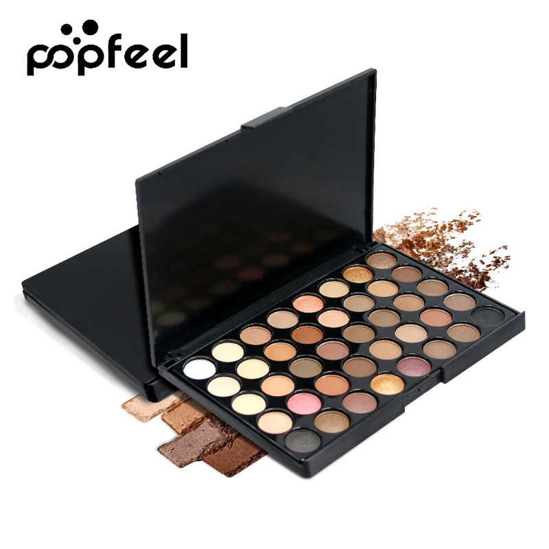 40 Color  Matte Eyeshadow Pallete Make Up Palette Eye Shadow Makeup Glitter Waterproof Lasting Makeup Pallete