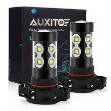 2x PSX24W H16 H10 H11 H8 881 880 9006 H3 Luci di Nebbia del LED Lampada Lampadine Bianche Per Mitsubishi ASX lancer 10 9 Outlander Pajero EX
