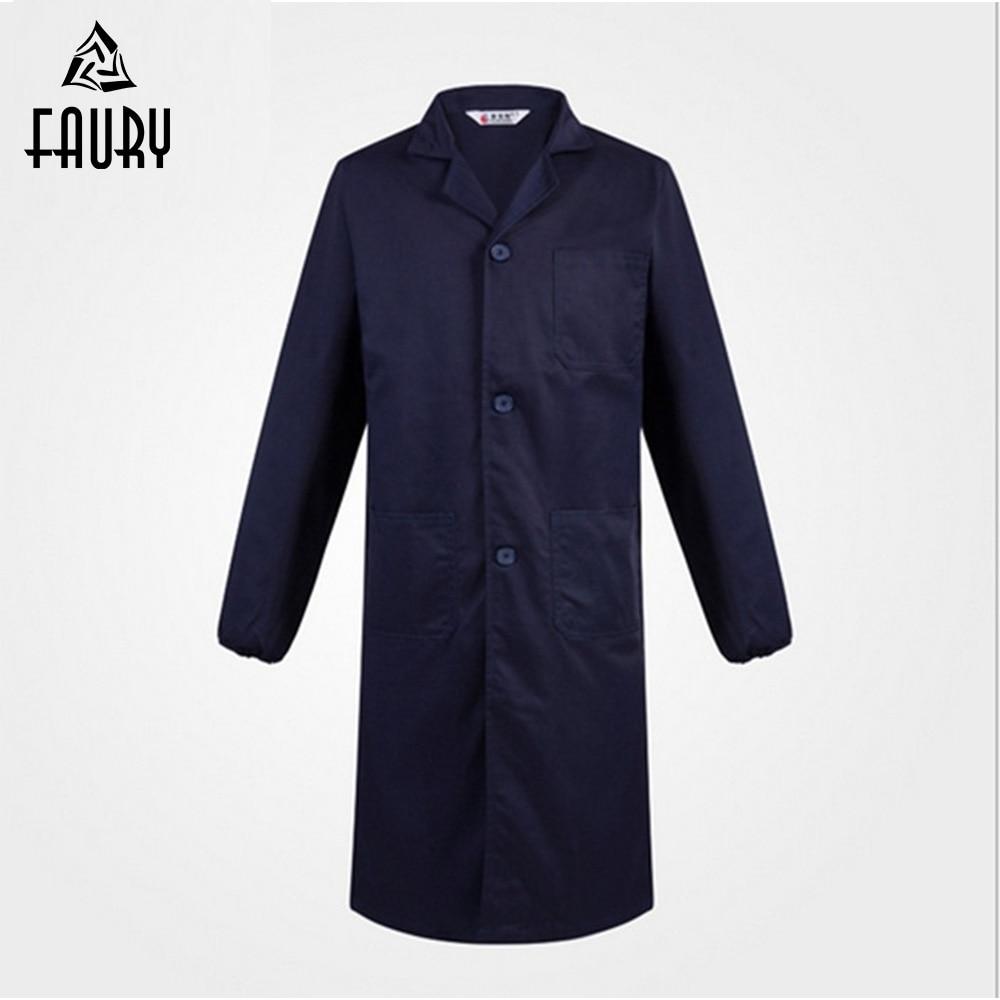 Long sleeve coveralls Unisex Work Wear overalls Dustproof Worker Uniform Engineering Service Workshop Welding Protective Clothes