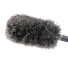 Микрофон на лобовое стекло муфта для лобового стекла для камера с микрофоном и Takstar SGC-598 MIC-01 NA-Q7 DeadCat Go искусственный мех ветровой Shiel
