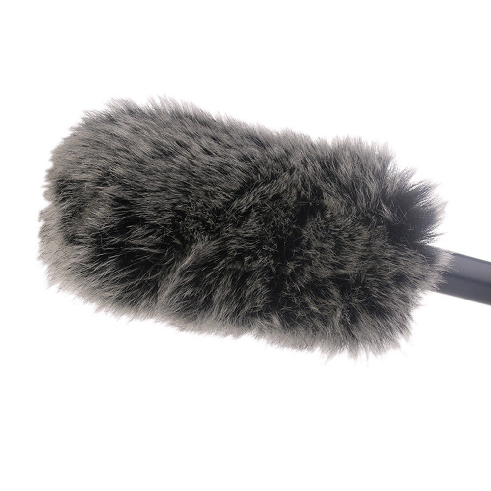 Microphone Windshield Windscreen Muff For RODE VideoMic Go And Takstar SGC-598 MIC-01 NA-Q7 DeadCat Go Artificial Fur Wind Shiel