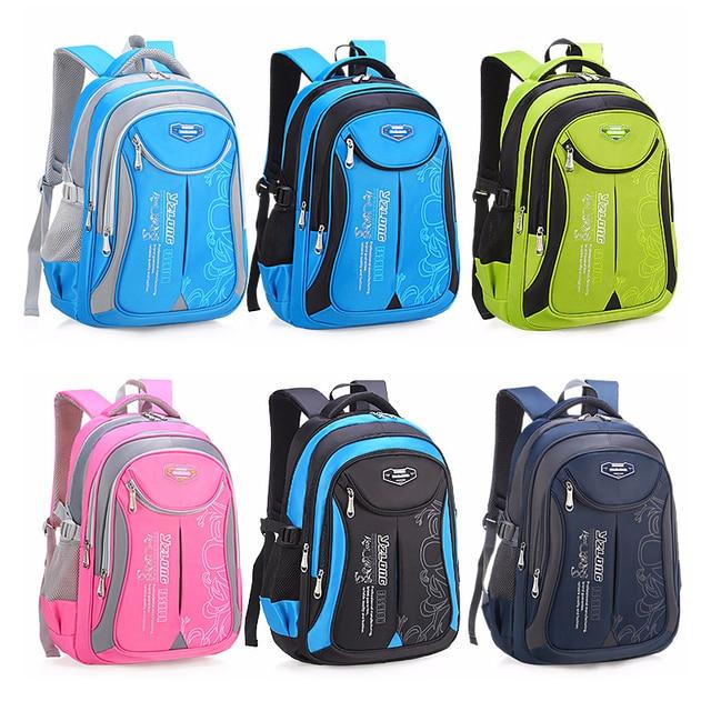 2019 Hot New Children Large Capacity Backpack School Bag For Teenagers Boys Girls  Waterproof 1