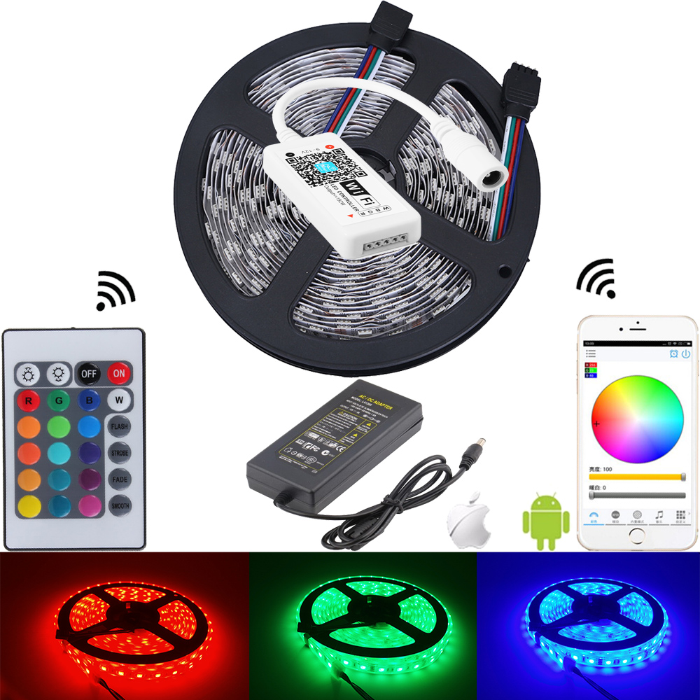 Buy 5050 rgb waterproof led strip fita de - Tiras de led exterior ...