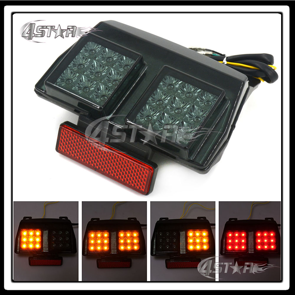 Motorcycle Somke LED Rear Turn Signal Tail Stop Light Lamp Integrated Brake Light For Ducati 748 916 996 1994-2003 998 02 03 04