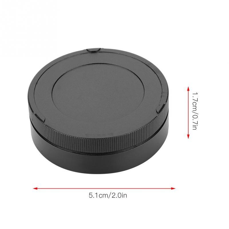 Lens Cap,Professional Durable Lightweight Metal Rear Lens Cap Protect Digital Camera//Camcorder Len,Suitable for Leica M Mount Camera Lenses Photography Accessory Black