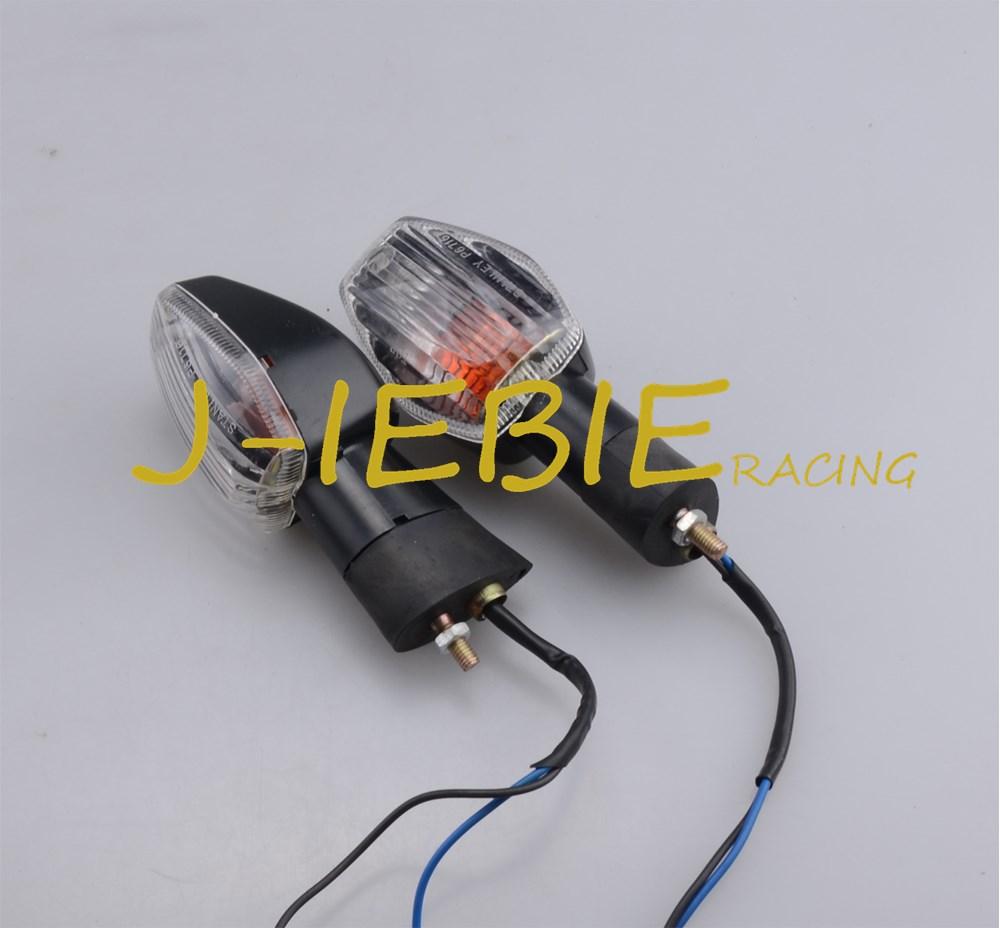 Clear 2 wires Turn Indicator Signal Light For HONDA CBR600RR CBR900RR CBR929RR CBR1000RR CBR125R CB400 VTEC CBR1100XX        Clear 2 wires Turn Indicator Signal Light For HONDA CBR600RR CBR900RR CBR929RR CBR1000RR CBR125R CB400 VTEC CBR1100XX