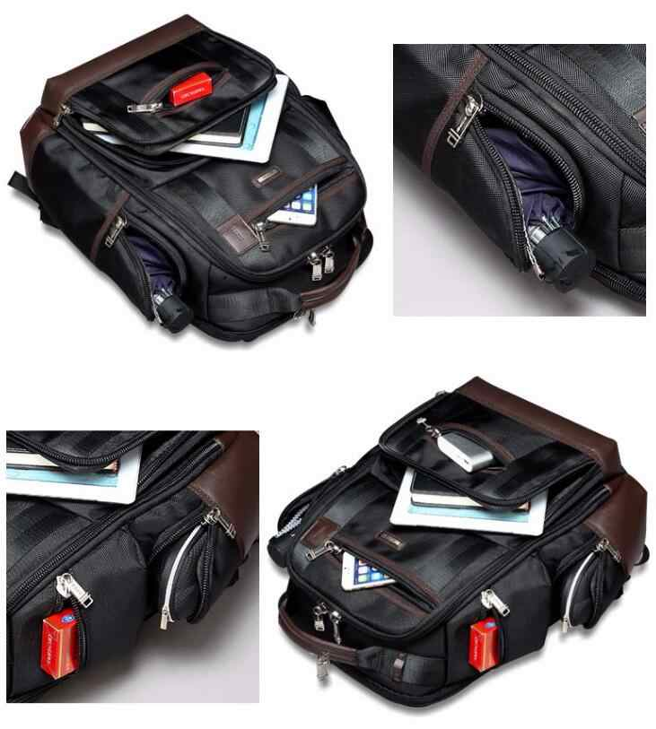 Amerikanische Berühmte Marke Multi Taschen Männer Rucksack Große Kapazität Wochenende Reise Zurück Pack Business männer Super Rucksack Männlichen Tasche