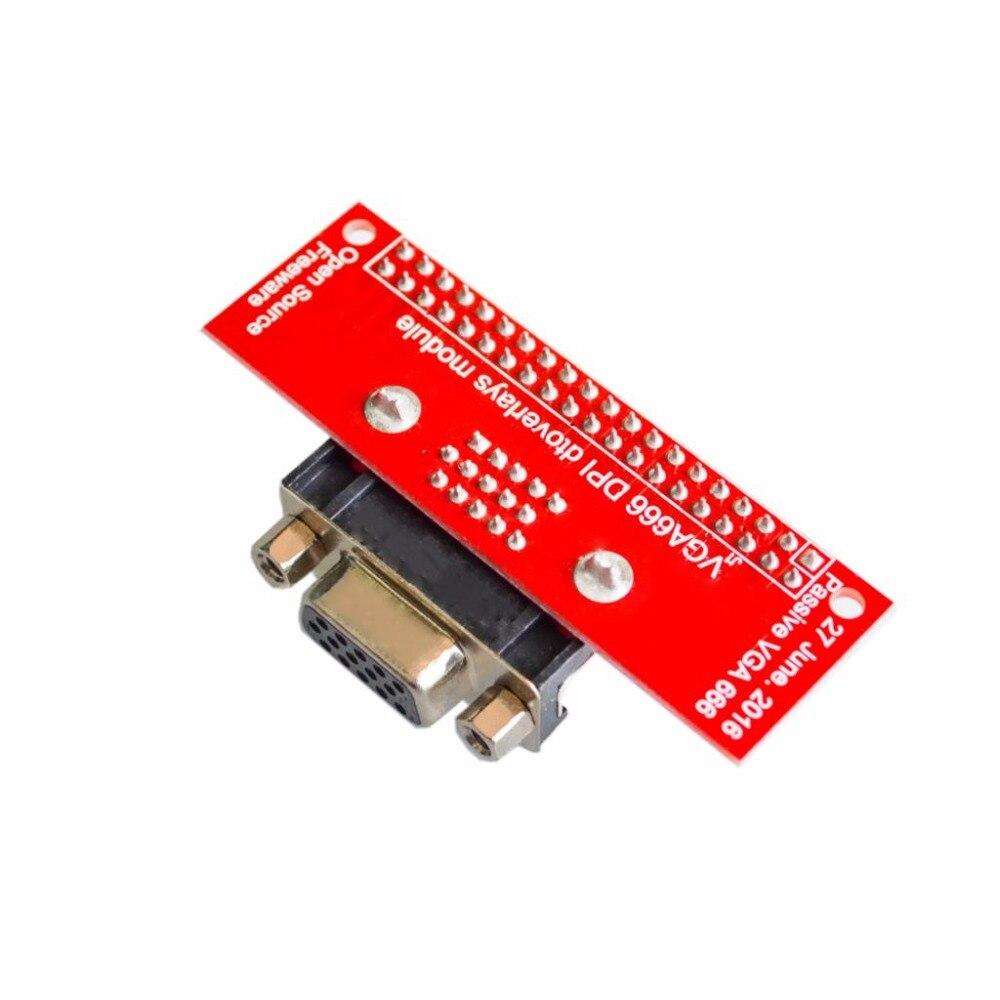 Image 2 - VGA 666 Adapter Board For Raspberry Pi 3B 2B B+ A+