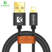 FLOVEME kabel USB dla iPhone 8 7 Plus X 5 V/2.1A 1m splecione micro USB kabel do Xiaomi 4X do Samsung s8 S9 typ C ładowarka Cabo(China)