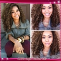 #8 16inch Human Hair Curly Lace Front Wigs/Kinky Curly Full Lace Wig 100% Unprocessed Virgin Brazilian wigs For Black Women