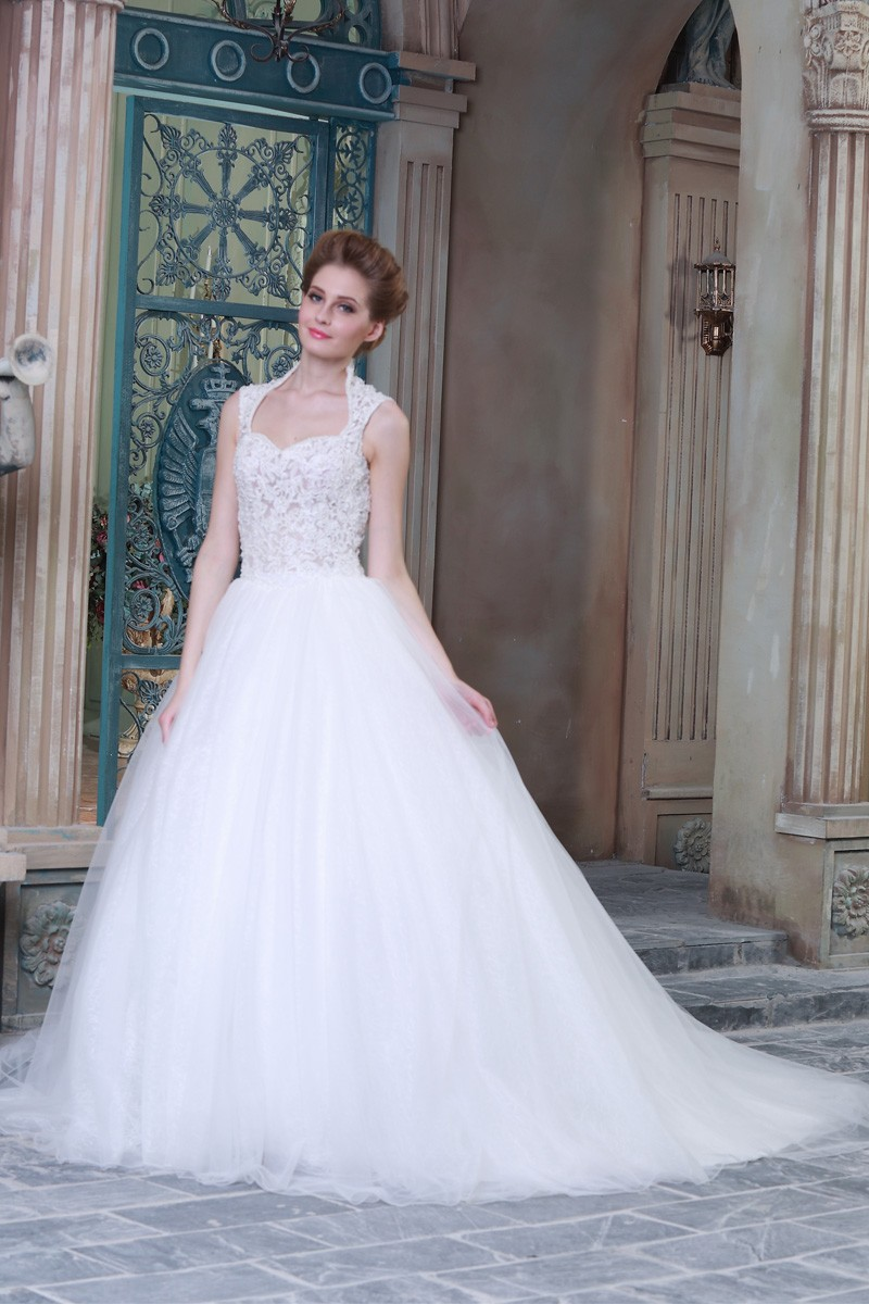 Compare prices on queen anne neckline online shopping buy for Queen anne neckline wedding dress