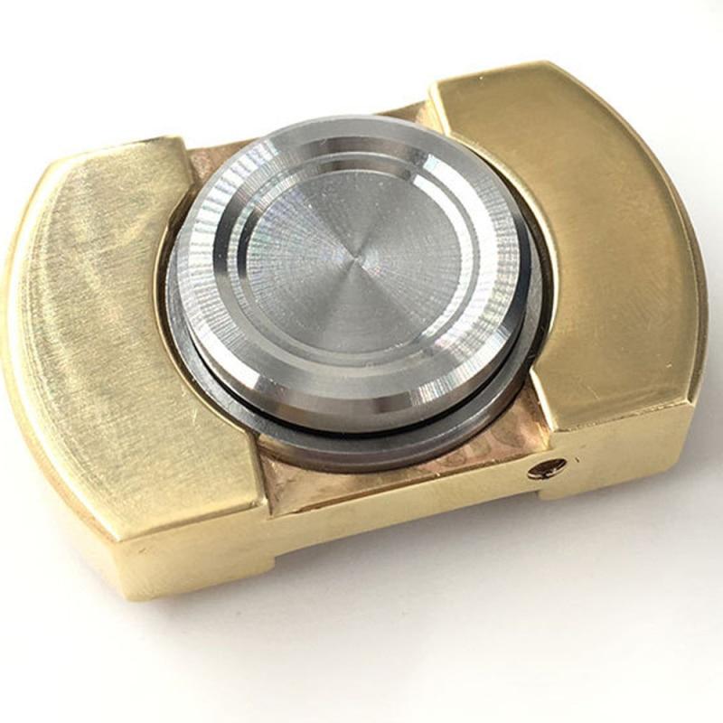 Hand Spinner More Than 4 Min Torqbar Brass EDC Toys Finger Spinner Gyro Stress Relief Fidget