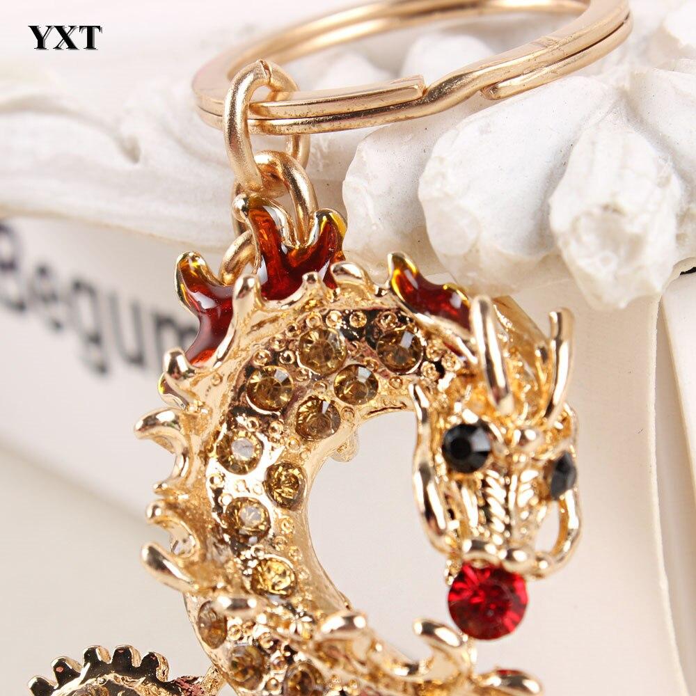 Μακρύ κινέζικο δράκο νέο κρεμαστό - Κοσμήματα μόδας - Φωτογραφία 3