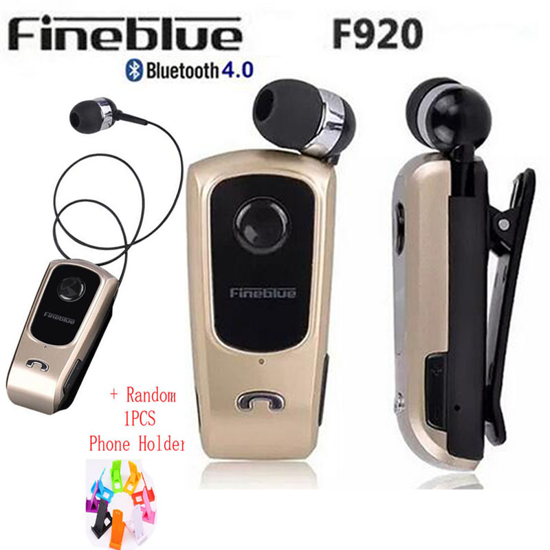 FineBlue F920 Wireless auriculares driver Bluetooth Headset Calls Remind <font><b>Vibration</b></font> Wear Clip Sports Running Earphone for Phone