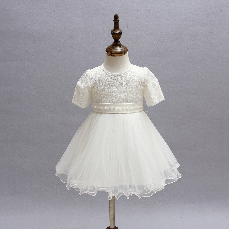 c011008afe US $19.01 25% OFF|Newest 2016 Newborn Baby Girl Princess 1 Year Birthday  Party Dress Toddler Infant Formal Christening First Communion Dresses -in  ...