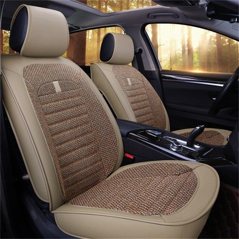 Étui universel en cuir pu lin couverture de siège de voiture pour volvo s60 v40 v60 s80 cars2011 s90 v90 xc70 xc40 xc60 xc90 volvo cars2011
