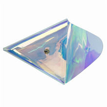 Triangle Transparent Coin Purse Women Small Wallet Female Change Purses Mini  Pocket Wallets Key Card Holder PVC coin wallet ocardian new fashion candy color women short wallet female change purse coin purses card holder carteras girls portable wallets