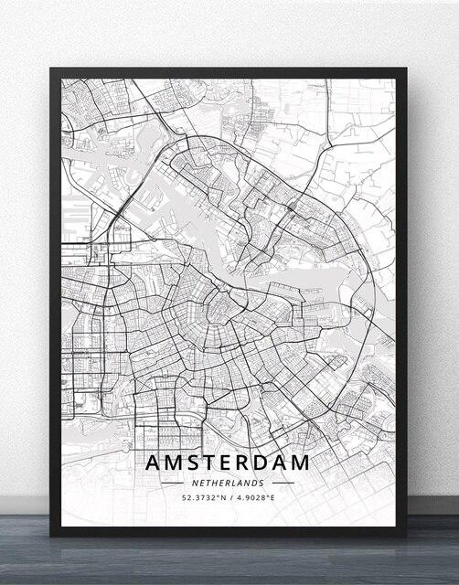 Amsterdam Eindhoven Fijnaart Leiden Rotterdam The Hague Netherlands ...