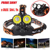 PROBE SHINY 10000Lm 2x T6 LED Rechargeable 18650 Headlamp Headlight Head Torch L61215