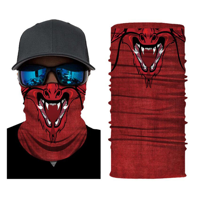 CDCOTN Car Motorcycle & Bike Protective Mask Face Mask Hats Seamless Bandana Scarve Halloween Party Feast Supplies 4