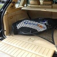For Nissan X Trail Qashqai Teana Tiida Sunny Nylon Cargo Parcel Luggage Baggage Net Rear Car Trunk Storage Organizer