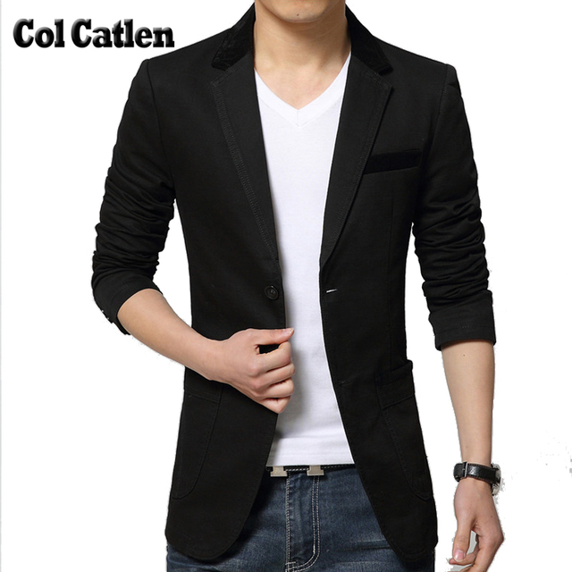 Di alta Qualità di Marca di abbigliamento Uomo Blazers Moda Slim fit uomo  Giacche di Colore e7325c58c90